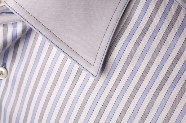 Antonio Valente Double Stitch Bespoke Shirt