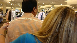 Getting measured up at Nordstrom