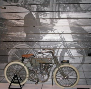 The 1907 Harley-Davidson model