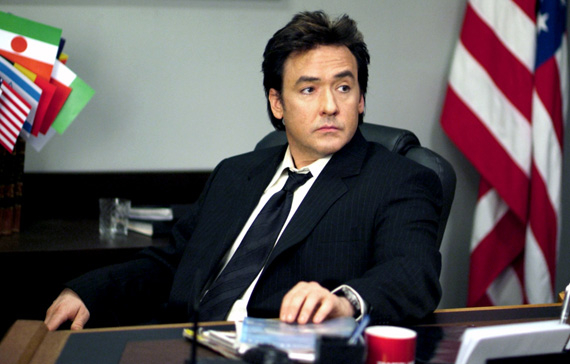 John Cusak in War Inc.