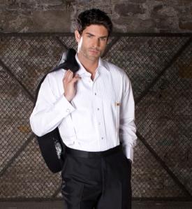 Antonio Valente tuxedo and tuxedo shirt
