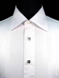 Black tie vs formal dress etiquette antonio valente for Tuxedo shirt no studs